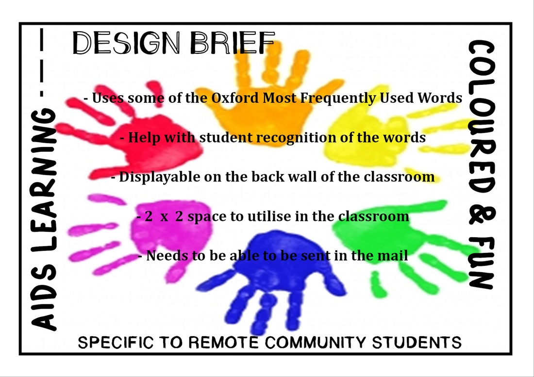 Poster design brief - The Below Design Brief Was Complied Through Varied Communication Between Myself And The Classroom Teacher When Communicating The Teacher Outlined All The